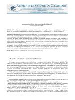 1 Autonomie e diritto ai trasporti pubblici locali * di Alessandro