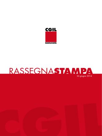 26_6_2014 - CGIL Basilicata