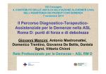 Il Percorso Diagnostico-Terapeutico-Assistenziale