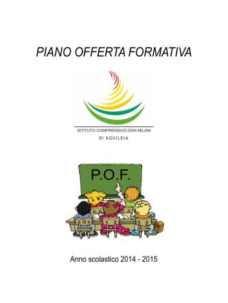 Clicca qui per scaricare il P.O.F. in versione PDF