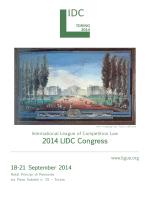 2014 LIDC Congress