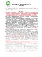 Regolamento Campionato 2014-15 - ASD Amatori Castrovillari