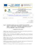 """Progetto E-1-FESR-2014-233- Titolo Progetti: """"Autoformazio"""