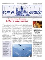 Echi-1-2014 - Parrocchia di Agordo