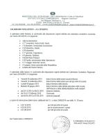 calendario scolastico 2014 - 2015