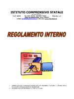 regolamento AGG AL 22 02 2014
