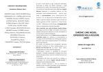 Chronic Care Model: esperienze nella Regione Lazio