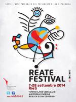 Volantino - Reate Festival 2014