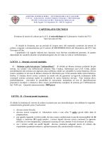 CAPITOLATO TECNICO