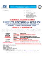 circolare camp. interregionale estivi albanella 14.06.2014