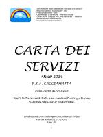 anno 2014 rsa cacciamatta - Don Ambrogio Cacciamatta Onlus