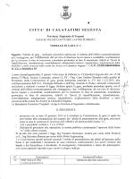 Verbale di gara n 3 - Comune di Calatafimi Segesta