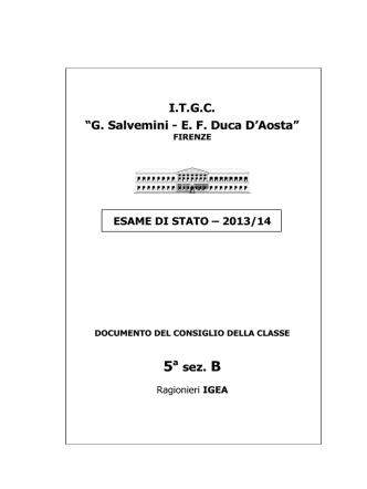 5B Igea - polotecnico