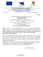Lettera Invito RDO Fesr A11919 - Istituto Comprensivo E. Ventimiglia
