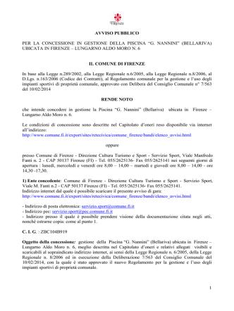 Avviso pubblico Bellariva 31_07_2014