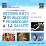 Catalogo Interventi salute 2014-2015