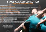 Programma Stage al Coreutico 2014