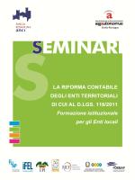 Programma e scheda di iscrizione Ferrara - ANCI Emilia
