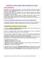 offerte 17. 10.2014 - Informagiovani Recanati