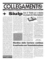 Collegamento N. 3-4.indd - SIULP provinciale Bari