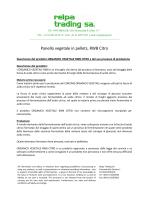 Panello vegetale in pellets, RWB Citro