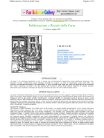 Fabbricazione e Riciclo della Carta - Divulgazione scientifica, ottica