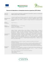 Tecnico superiore specialista in applicazioni informatiche mobile