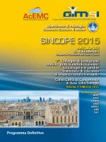gimsi 2015 - Gruppo Italiano Multidisciplinare per lo Studio della