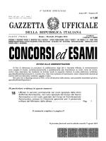 GAZZETTA UFFICIALE - SanVitoInformation