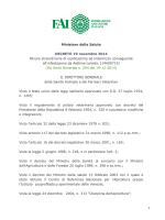 1 Ministero della Salute DECRETO 19 novembre