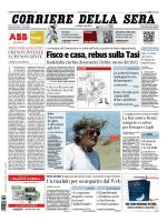 Corriere della sera - 31.05.2014