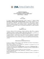 Bando di ammissione - Ordine dei Dottori Commercialisti e degli