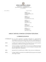 ISTITUTO COMPRENSIVO 6 PERUGIA BANDO DI GARA PER LA