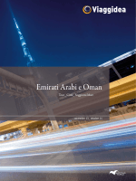 Emirati Arabi e Oman Viaggidea Estate 2014