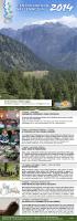 programma 2014 - Centro Natura Vallemaggia