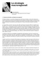 Le strategie Macroregionali - Sabrina Bandera, Éupolis Lombardia