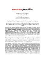 Giunta alla sua 4a edizione, la Biennale Gherdeina di Ortisei