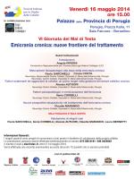 Perugia - programma