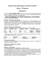 Bando Asta Pubblica application | PDF