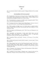 Elenco pubblicazioni - Dipartimento di Scienze Sociali ed Economiche