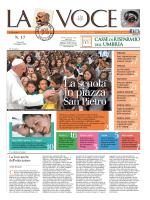 La Voce n.17 del 09 Maggio 2014