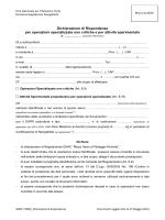 Dichiarazione di Rispondenza al Regolamento ENAC