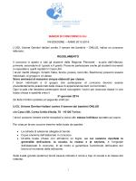 BANDO DI CONCORSO U.G.I. VIII EDIZIONE – ANNO 2013