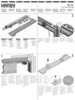 HANDY istruzioni montaggio