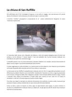 La chiusa di San Ruffillo - Consorzi dei canali di Reno e Savena in