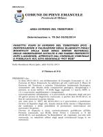 COMUNE DI PIEVE EMANUELE - Gazzetta Amministrativa