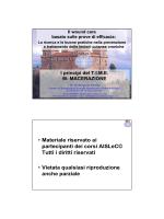 • Materiale riservato ai partecipanti dei corsi AISLeC© Tutti i diritti