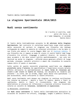 Contraddizione_press kit 14-15