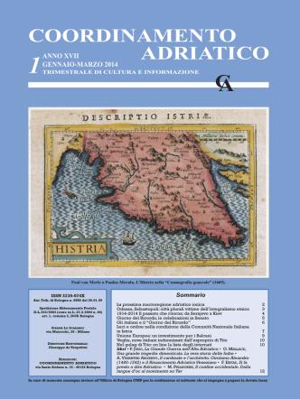 Bollettino n. 1 - 2014 - Coordinamento Adriatico