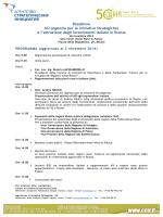 Roadshow ASI (Agenzia per le iniziative Strategiche) e l